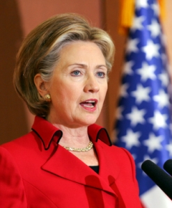 U.S. Secretary Of State Hillary Clinton Visits South Korea